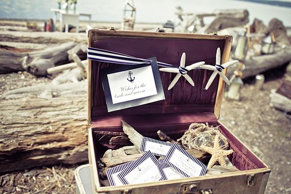 Nautical, Glam, Beach Wedding Shoot